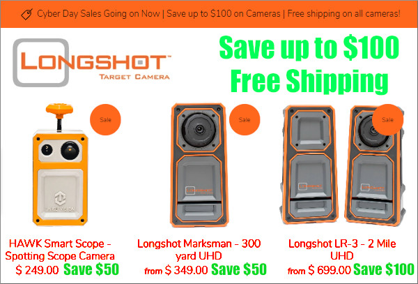 Longshot Camera Targetvision Cyber Sale Black Friday