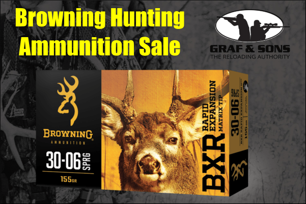 browning hunting ammo sale