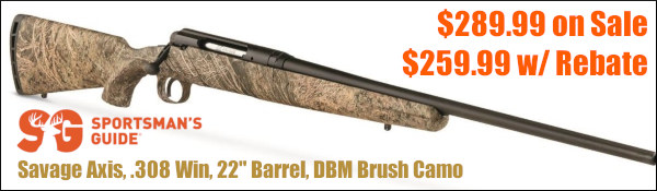 Savage Hunting Rifle Rebate