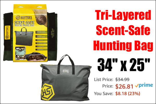 scent safe travel bag