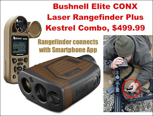 Bushnell Kestrel combo laser rangefinder