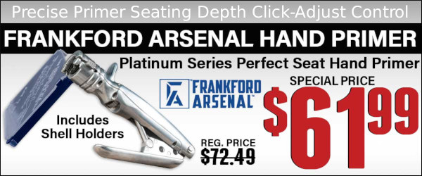 Frankford arsenal adjustable primer seating hand tool