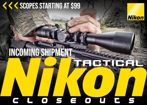 Nikon tactical scope close-out sale