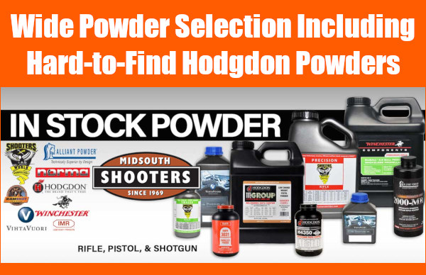 Midsouth Shooters powder smokeless Varget H4350 sale