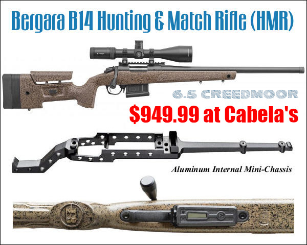 Bergara B-14 HMR rifle PRS hunting