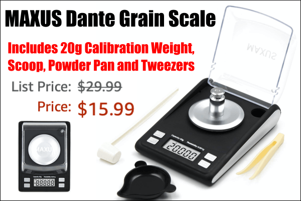 powder scale