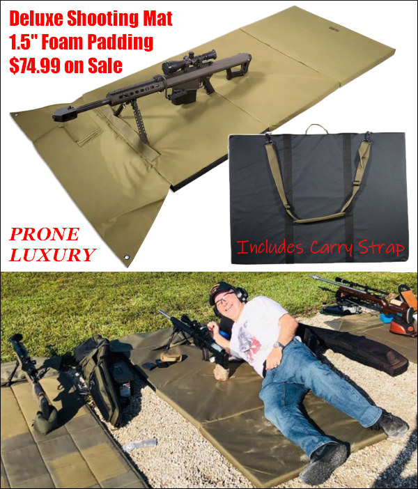 thick deluxe padded shooting mat MidwayUSA form padding
