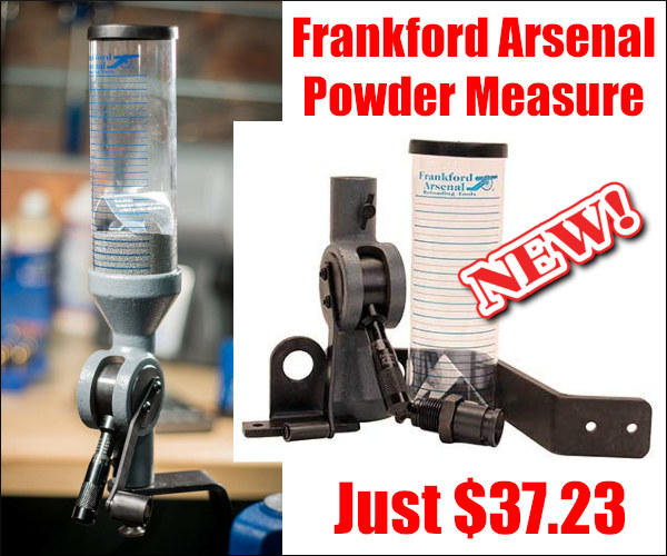 Frankford Arsenal Powder Measure