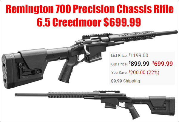remington pcr precison chassis rifle PRS sale
