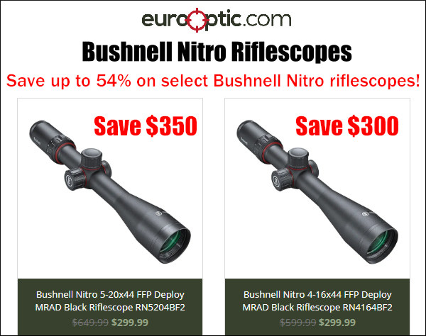 bushnell scope sale