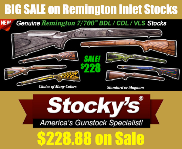 remington stocks