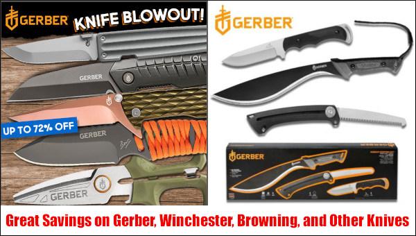 gerber winchester sog knife blade discount sale