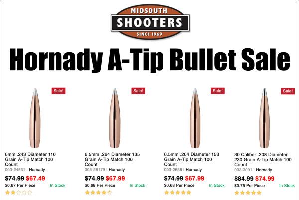 hornady a tip ammo sale