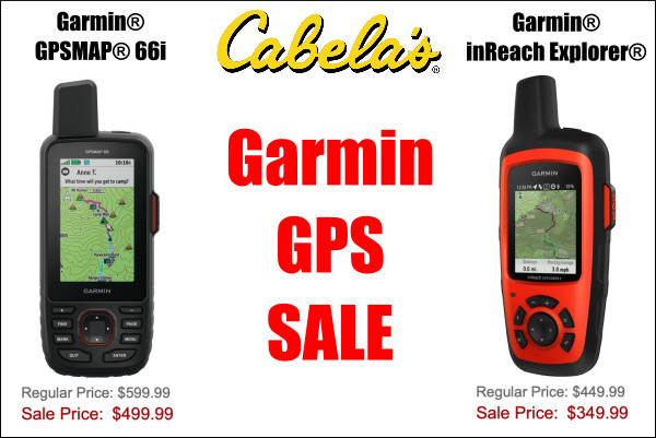 garmin gps satellite inReach