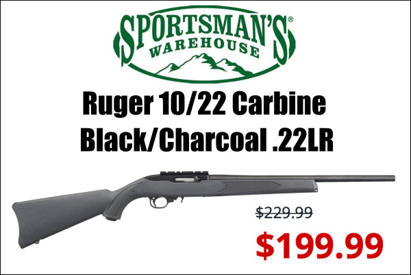 Ruger 10/22 rifle sale
