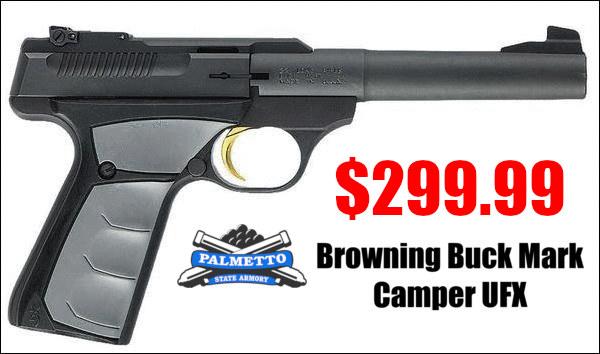 browning buckmark .22 LR pistol Camper UFX