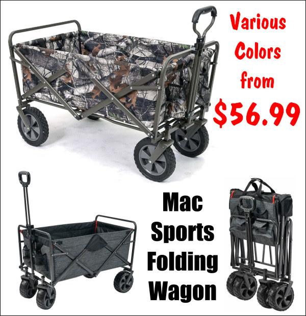 mac folding cart