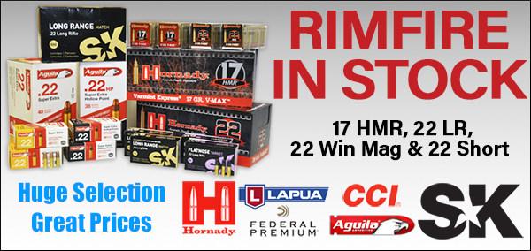 .22 cal .17 HMR HM2 wmr rimfire ammo ammunition