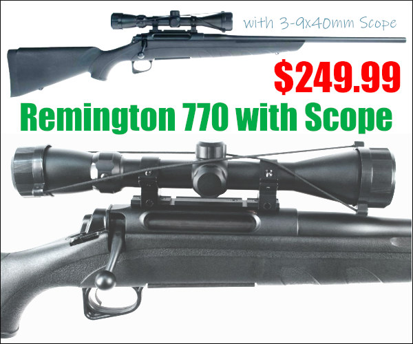 remington 770 discount hunting rifle .243 win winchester