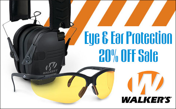 walkers brownells earmuffs muffs eye hearing protection sale electronic game ears
