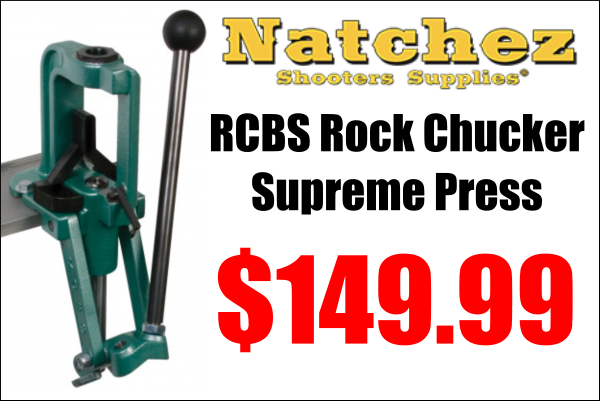 rock chucker supreme sale