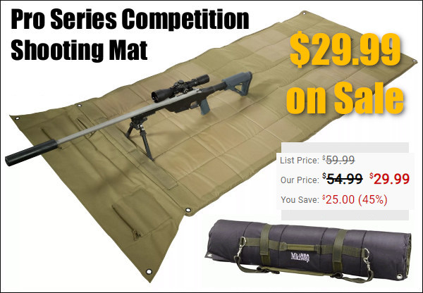 midwayusa pro shoooting mat cybermonday black friday
