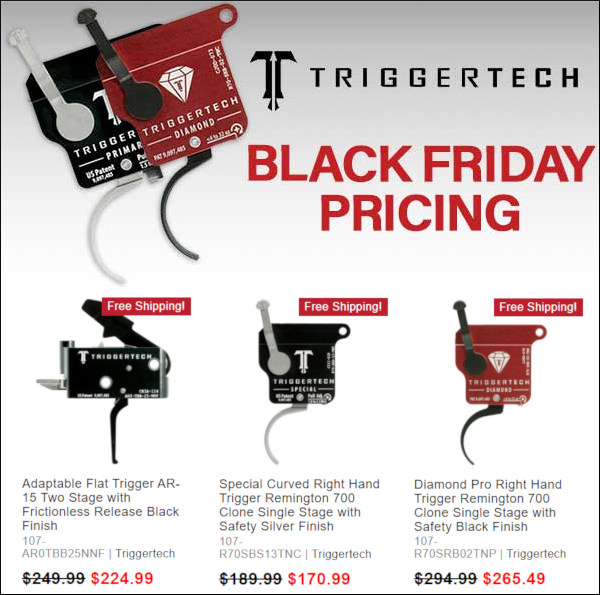 midsouth shooters trigger tech trigger discount sale cybermonday black friday