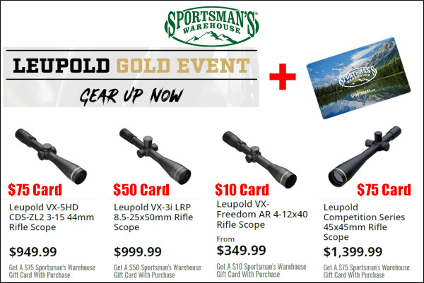 leupold scope sale