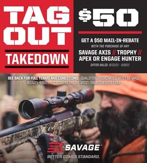 savage rifle sale