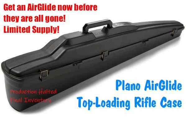 plano airglide vertical top open rifle case