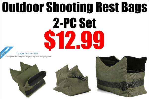 front rest shooting bags