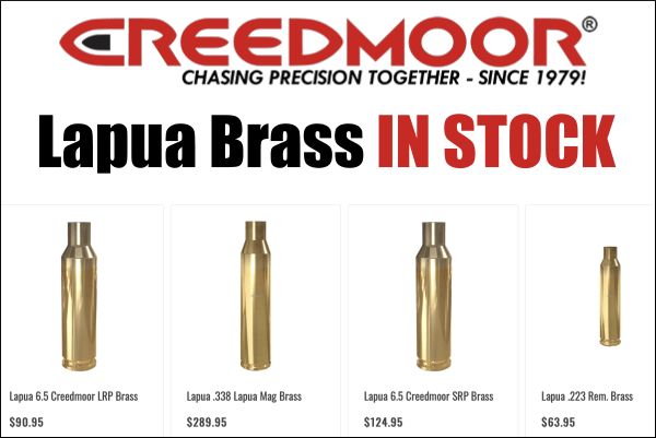 lapua rifle brass