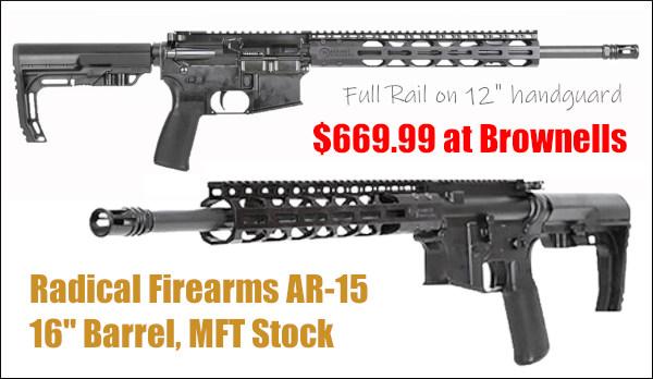 radical firearms brownells AR AR-15 AR15 SOCOM .223 Rem 5.56