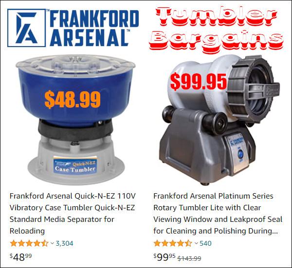 Frankford Arsenal Vibratory Rotary Wet Tumbler