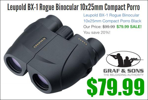 Leupold porro binoculars BX-1 10x25mm sale compact