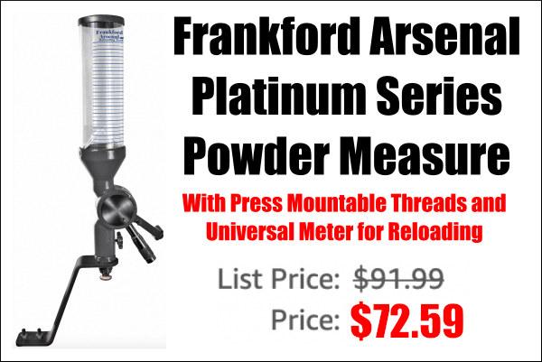 frankford arsenal powder dispenser