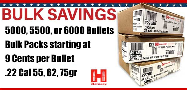AccurateShooter Deals of the Week discount Hornady bulk bullets A-tip Precision Reloading