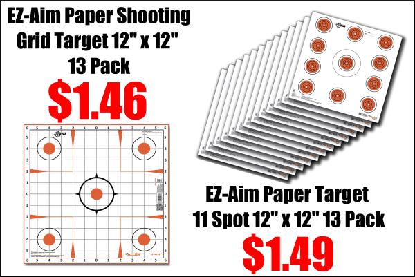 paper target sale
