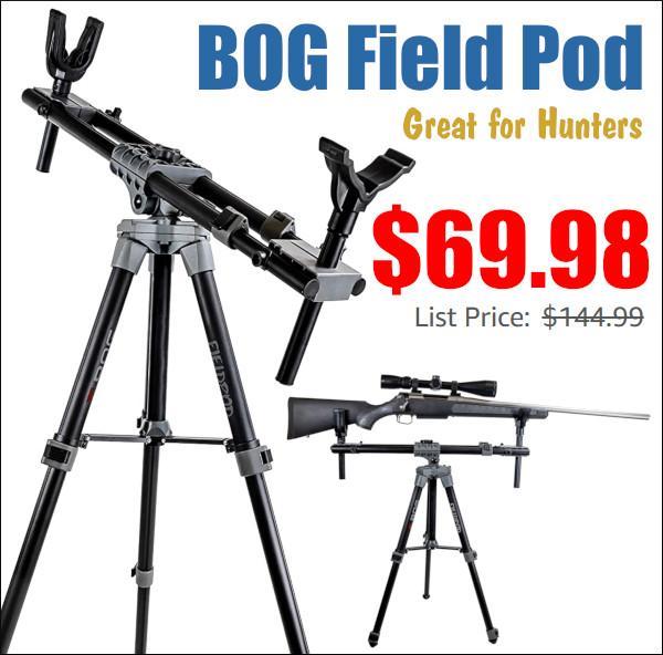 bog stable tripod rifle
