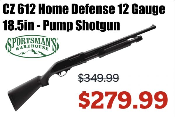 cz pump shotgun sale