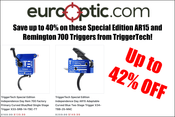 EuroOptic TriggerTech Special Edition Triggers