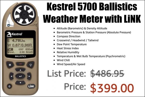 kestrel wind meter sale