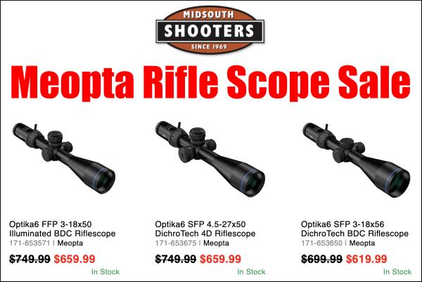 meopta scope sale