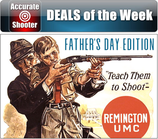 AccurateShooter Deals of the Week Weekly Bargain Finder Sale Discount Savings