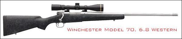 6.8 Western cartridge winchester browning X-Bolt Pro hunting .277 WSM
