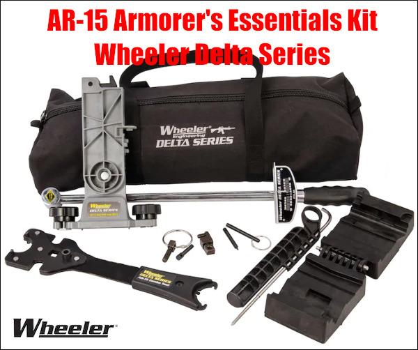 Wheeler ar15 AR-15 armorers essentials kit tool carry case