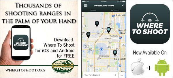 where to shoot mobile app nssf range locator software