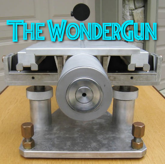 Joel Pendergraft water-cooled wondergun .300 Ackley Improved