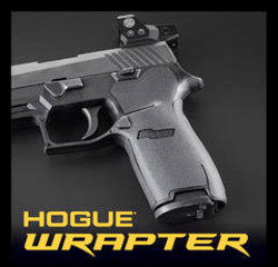 Hogue Wrapter grip material handgun grip adhesive rubber grip covering
