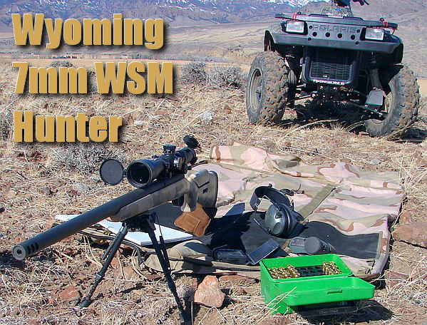 wyoming 7mm wsm winchester short magnum elk rifle hunter hunting Win mag